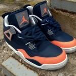 Air Jordan IV Salmon Toe par DeJesus Customs