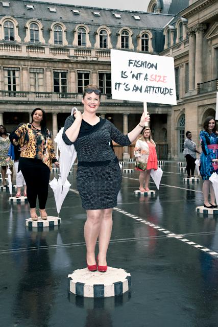 DEFILE: Fashion isn't a size, it's an attitude.