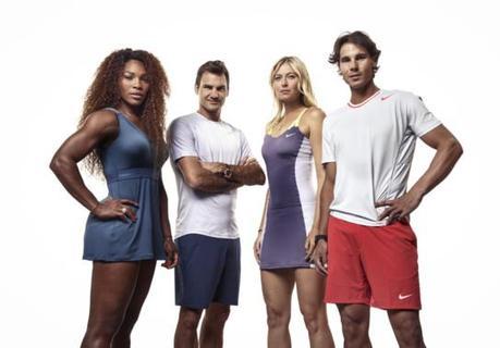 Nike Tennis : 4 stars du tennis mondial à Paris