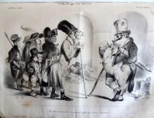 Une caricature de Daumier