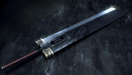 Une réplique de la fameuse Buster Sword de Final Fantasy 7