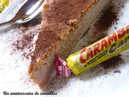cheesecake au carambar maizena fromage blanc