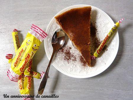cheesecake au carambar