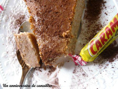 cheesecake au maizena fromage blanc carambar