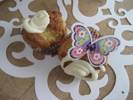 Gâteaux ananas-rhum, gingembre et philadelphia