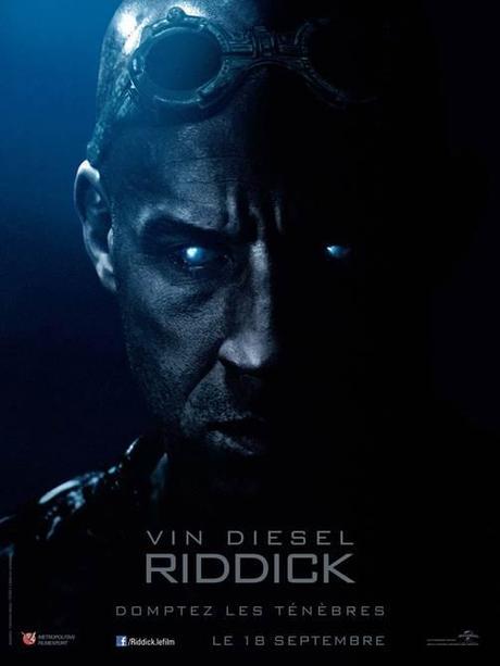 Riddick : découvrez la bande-annonce. Riddick sera de retour au cinéma le 18 septembre !