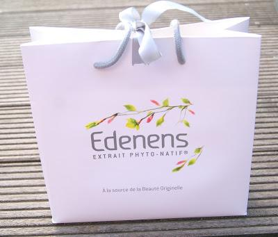 Pour la fête des mères, j'ai choisi le coffret merveilleuse maman de Edenens!!!