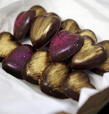 Petits chocolats...en toute simplicité