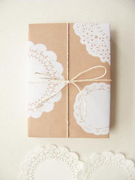 Cadeau papier brun 1