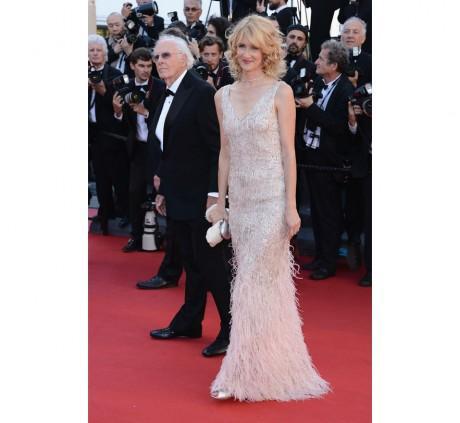 L'actrice Laura Dern porte des bijoux Boucheron (elle voulait voir Gatsby mais s'est trompé de jour... shame on you!)