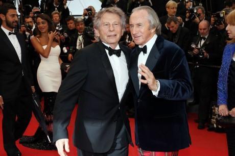 Roman Polanski et Jackie Stewart