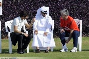carlo-ancelotti---leonardo---nasser-al-khelaifi-02-01-2012-entrainement-paris-saint-germain-complexe-sportif-aspire-doha-qatar-20120102144309-4212