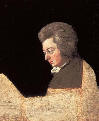 Joseph Lange Mozart au pianoforte