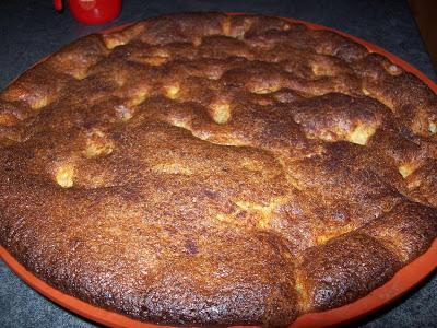 Gâteau fondant aux pommes (Ronde Interblog n°38)