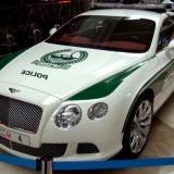 Dubai Police Bentley 01