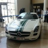 Dubai Police Mercedes SLS 01