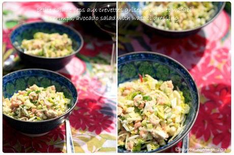 a shrimp salad b