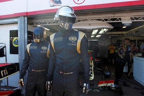 daft punk Monaco Grand Prix 2013