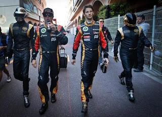 Les DaftPunk au Grand Prix de Monaco...