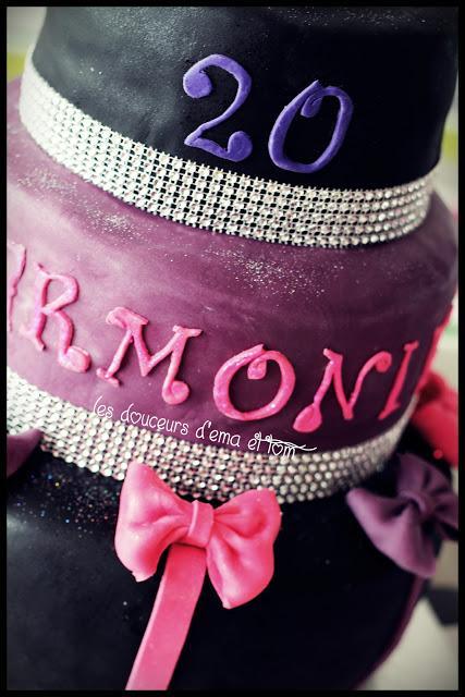 Mon Gâteau décoré Glam et chic