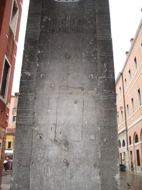 Graffiti de la marche sur Rome