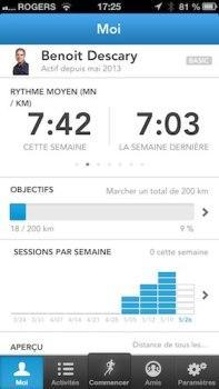 runkeeper iphone 3 iPhone: Runkeeper, la meilleure application pour gérer vos activités sportives