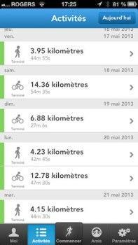 runkeeper iphone iPhone: Runkeeper, la meilleure application pour gérer vos activités sportives
