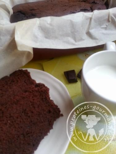 Gâteau au chocolat & courgette {sans beurre/sans gluten/sans lactose}