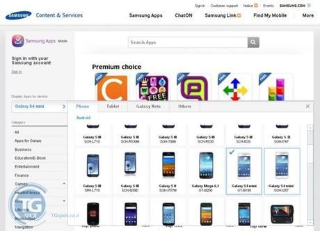 Samsung annonce par erreur un Galaxy S4 Mini...