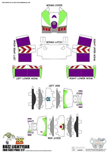 Papercraft Buzz L?Eclair de Steven-YKT