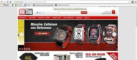 Les sites d'information allemands vendent aussi des exemplaires de la Bible