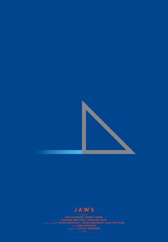 Affiches très minimalistes