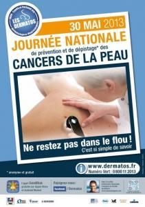 Prévention des CANCERS de la PEAU: Le 30 mai, montrez votre peau! – SNDV