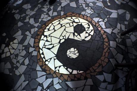 Yin Yang Mosaïque