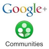 Google Plus communautés