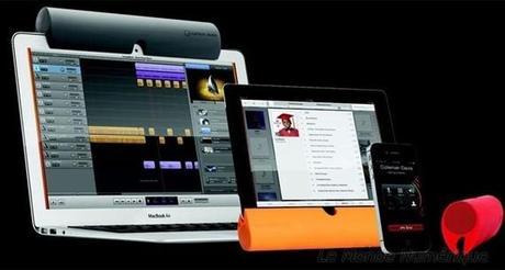 Zooka, une enceinte versatile sans fil Bluetooth originale pour terminaux mobiles
