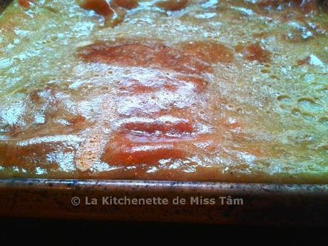 Flan vietnamien au lait de coco (Bánh Gan)