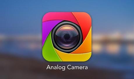 Analog Camera, la prochaine Apps de RealMac...