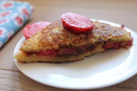 croque fraises speculoos 1 1024x682 Croques fraises speculoos : battle food #8