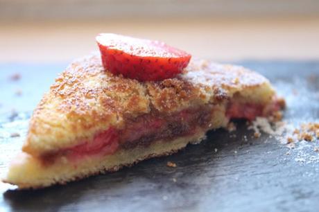 croque fraises 5 1024x682 Croques fraises speculoos : battle food #8