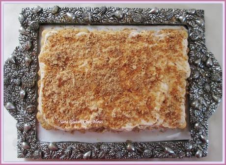 gâteau au petits beurre sans gluten sans oeufs.