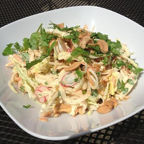 Salade fraîcheur un peu thaïe