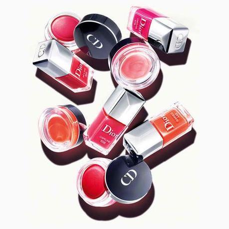 Blush + Vernis = l'addition gagnante d'un été réussi en Dior...