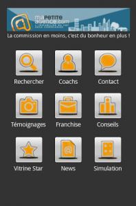 Application gratuite Smartphone dans l'immobilier