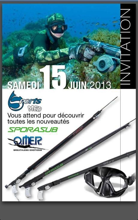 chasse sous marine omer 2013