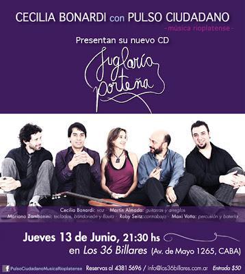 Le nouveau CD de Pulso Ciudadano [à l'affiche]