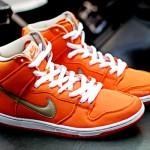 Nike SB Dunk High Orange Canvas