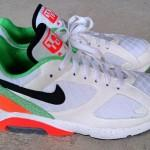 Nike Air 180 White Orange Green Safari