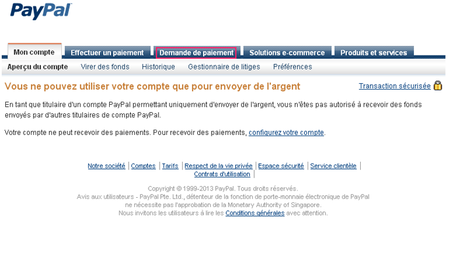 paypal1 Vérifier votre compte Paypal au Maroc et récupérer votre argent