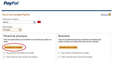 paypal inscription Vérifier votre compte Paypal au Maroc et récupérer votre argent